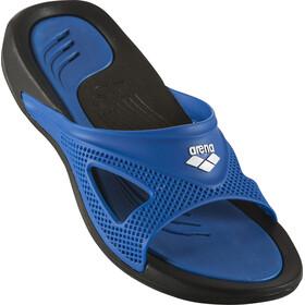 arena Hydrofit Hook Sandals Men black/blue/blue